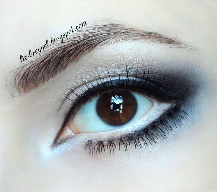 Lining your waterline with white will make your eyes appear larger.
