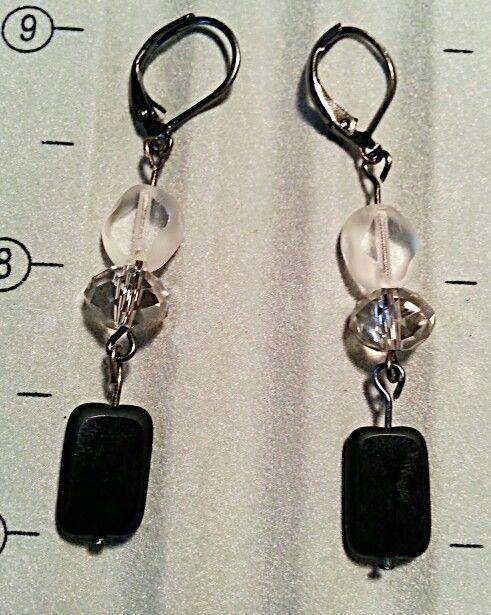 Ombre earrings...light to dark
