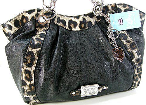 Kathy Van Zeeland Purse Satchel Hand Bag Shoulder Tote Leopard Cheetah Black Kathy Van Zeeland http://www.amazon.com/dp/B00V7BWXA6/ref=cm_sw_r_pi_dp_WyGHvb1RAY7R6