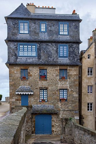 Saint Malo, Ille-et-Vilaine (France) - Crédit Photo : Phillip Brown (cupra1) via Flickr