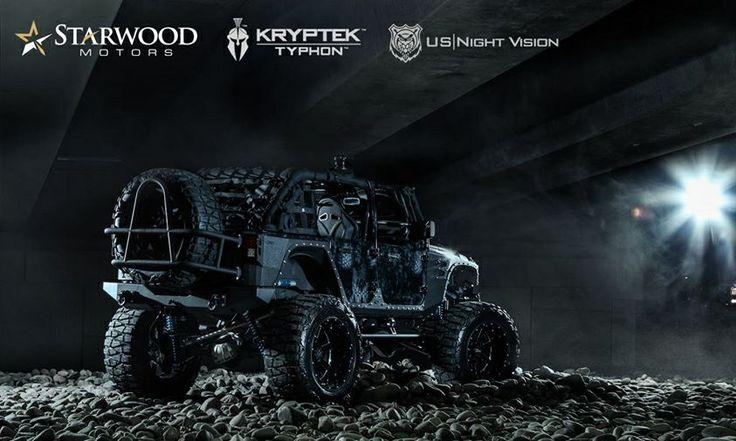 """2013 jeep wrangler kryptek typhon vinyl wrap by """"Rapid"""
