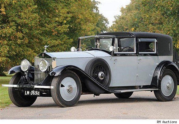 Lord Mountbatten's 1929 Rolls Royce Phantom was up for auction last month…