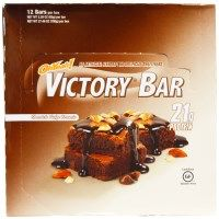 Check out this product I found on iHerb.com. Oh Yeah!, Victory Bar, Chocolate Fudge Brownie, 12 Bars, 2.29 oz (65 g) Each