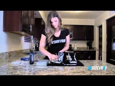 How to Clean Girls Jordan Oreo 6's with Reshoevn8r - YouTube