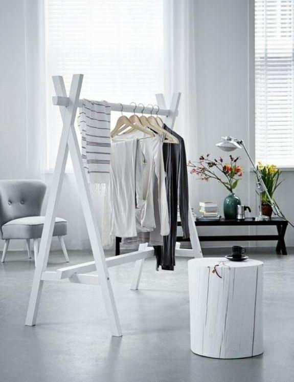 Ber ideen zu garderobe selber bauen auf pinterest garderobenst nder - Chevalet vetement design ...