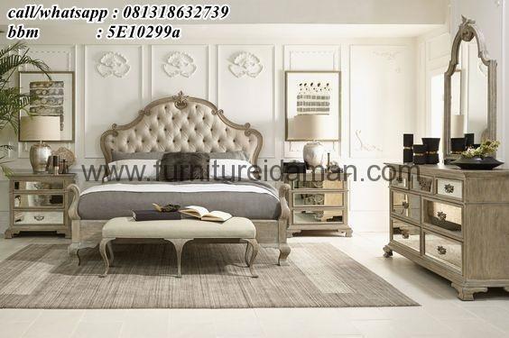 Tempat Tidur Set Jok Bludru STTM-22- Set kamar tidur terbaru yang memiliki spesifikasi produk yang sangat baik dari desain yang minimalis mewah