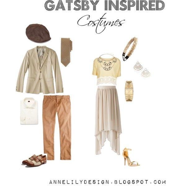 Gatsby Couples Costume Theme.