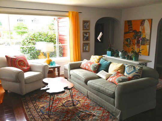 57 best images about teal and rust livingroom on pinterest Cheerful colors to paint a room