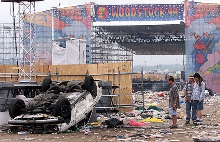 woodstock 99 pictures | Woodstock 99, 10 years later, is best remembered for its chaotic end ...