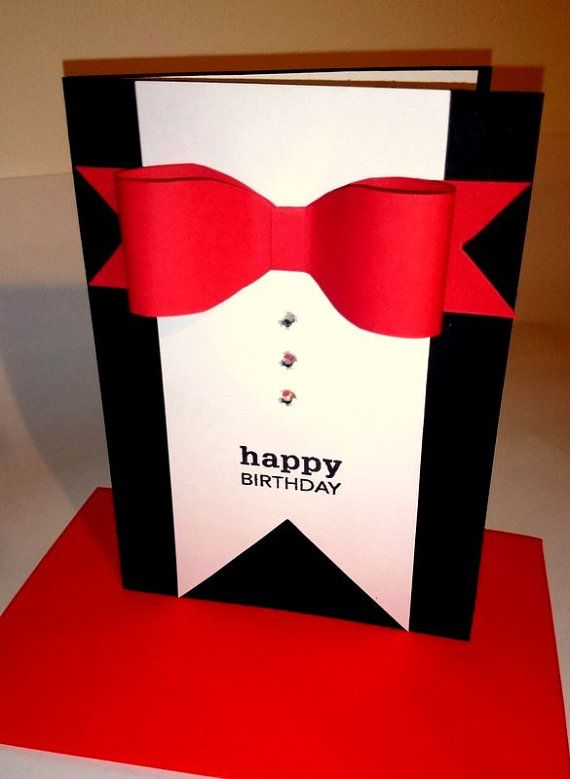 Items similar to Birthday Card, Handmade Greeting Card, For Him, Birthday Card…                                                                                                                                                                                 More
