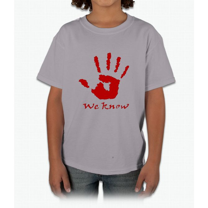 We Know Letter - The Dark Brotherhood t-shirt Young T-Shirt