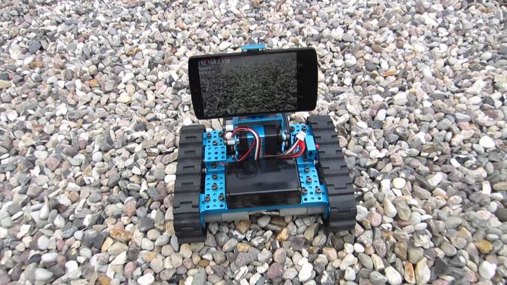 Android ioio RC 4WD Robot  - Cam Remote over Wireless LAN - Makeblock Ch...