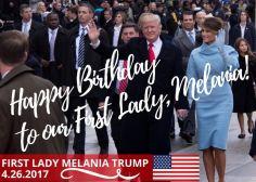 Donald Trump fait une erreur dans le tweet d'anniversaire à sa femme