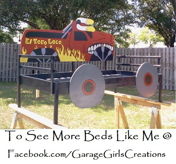 Monster Truck Twin Bed 275 00 Beds I Ve Made In 2018 Room