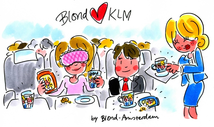 Blond loves KLM by Blond-Amsterdam