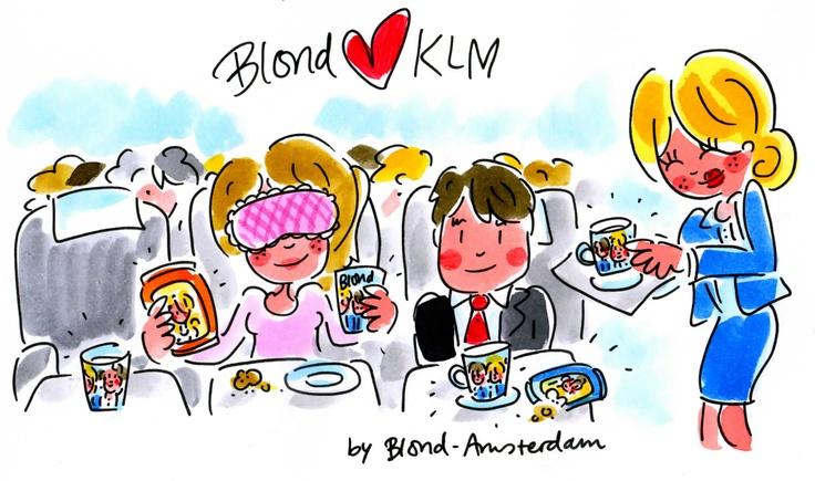 Blond loves KLM by Blond-Amsterdam