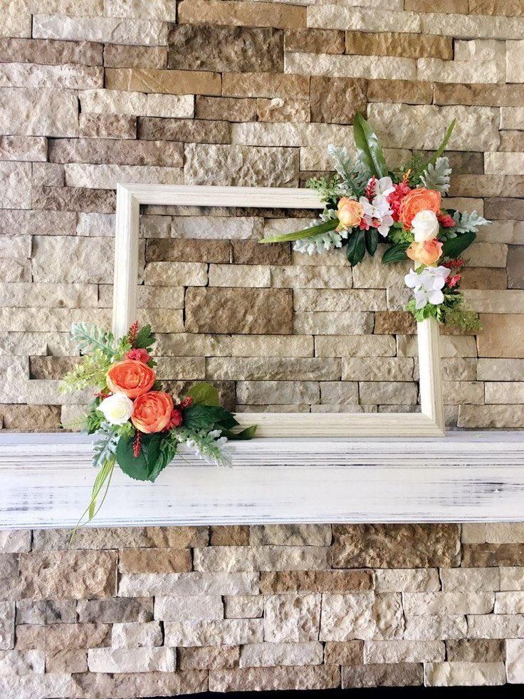 Photo Prop Frame Selfie Frame Rustic Wedding Decor Frame
