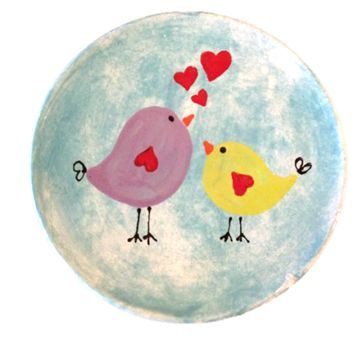 Birds in love  For more ideas and inspiration go to http://www.crockadoodle.com/gallery/great-gifts