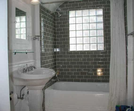 Cool Picture of bathroom+with+white+subway+tile4 Bathroom Subway Tile Decoration Decoration Ideas