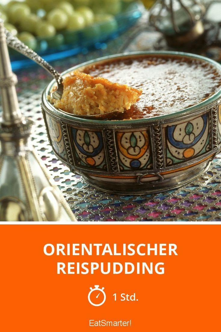 Orientalischer Reispudding | http://eatsmarter.de/rezepte/orientalischer-reispudding