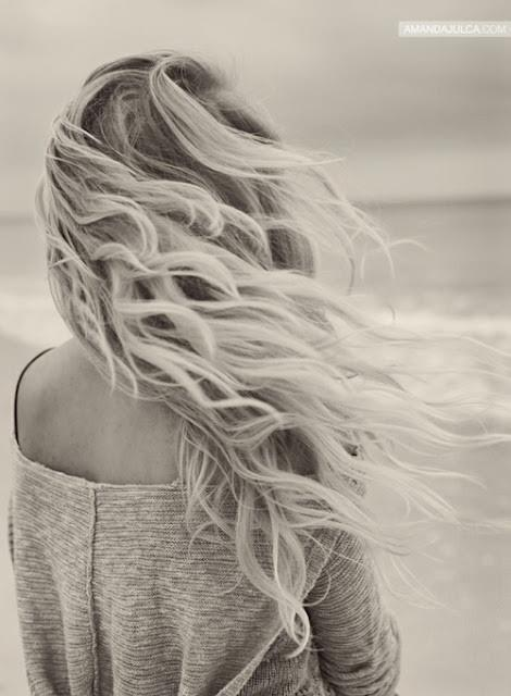 Beachy hair - if only my hair looked like when I was on holiday lol
