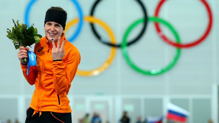 Out speedskater Irene Wüst wins Olympic goldmedal. Eat your heart out, Putin.