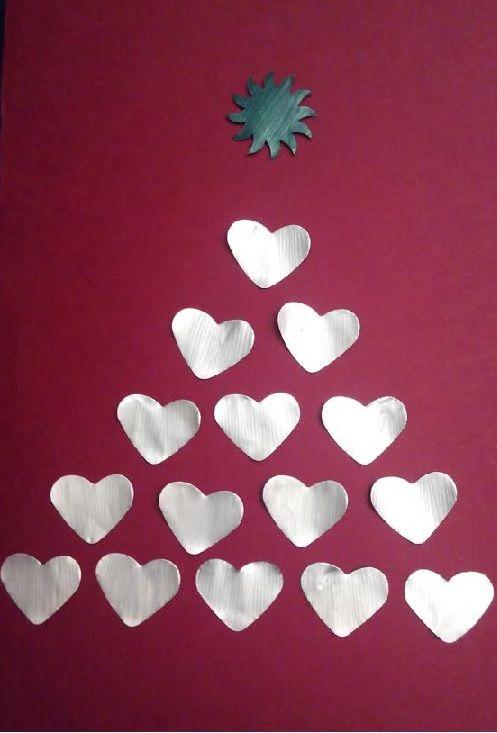 como hacer tarjeta de navidad con cpsulas nespresso ms