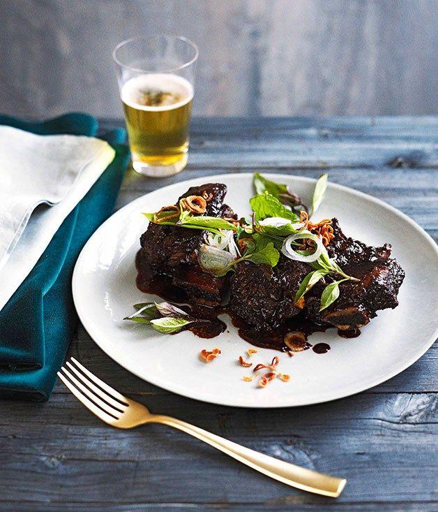 Lemongrass and tamarind beef ribs - Gourmet Traveller