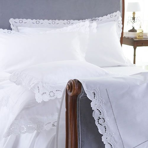 Cutwork Bed Linen - Cologne & Cotton