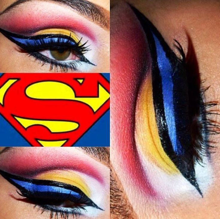 Best 10+ Superhero makeup ideas on Pinterest | Superhero halloween ...