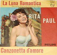 "Rita Paul - ""La Luna Romantica"", german preselection for the Eurovision Song Contest 1962, place 6"