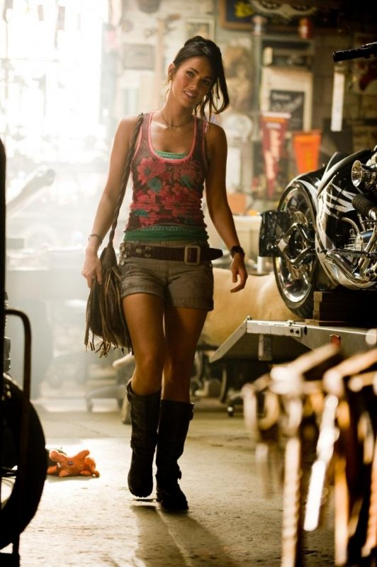 Megan Fox in Transformers