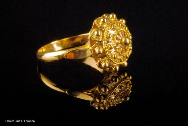 Valentine's sale (up to 10% off+free shipping). Charro button ring.18k gold. Boton Charro Filigree Jewelry from Salamanca by FiligranaGallery on Etsy https://www.etsy.com/listing/61710530/valentines-sale-up-to-10-offfree