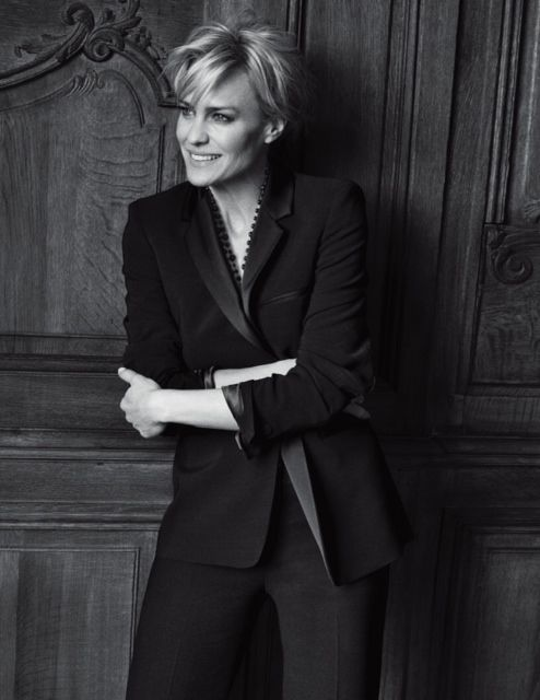 Robin Wright by Peter Lindbergh for Gérard Darel FW 2011- love this blazer