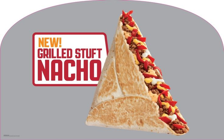 News: Taco Bell - New Grilled Stuft Nacho | Brand Eating