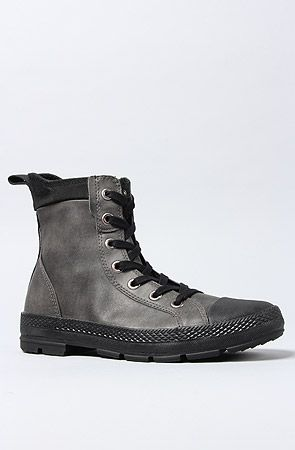 Converse The Chuck Taylor All Star Sargent Boot in Elephant Skin Black : Karmaloop.com - Global Concrete Culture