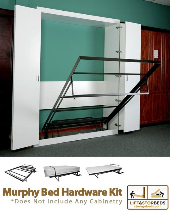 murphy bed diy kit by lift u0026 stor beds maybe a better idea the bunk bed still takes up a lot of room in kids bedroom