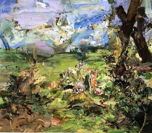 Cecily Brown, Landscape, 2003