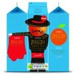 TESCO SPANISH ORANGE JUICE- private brand - private label - store brand