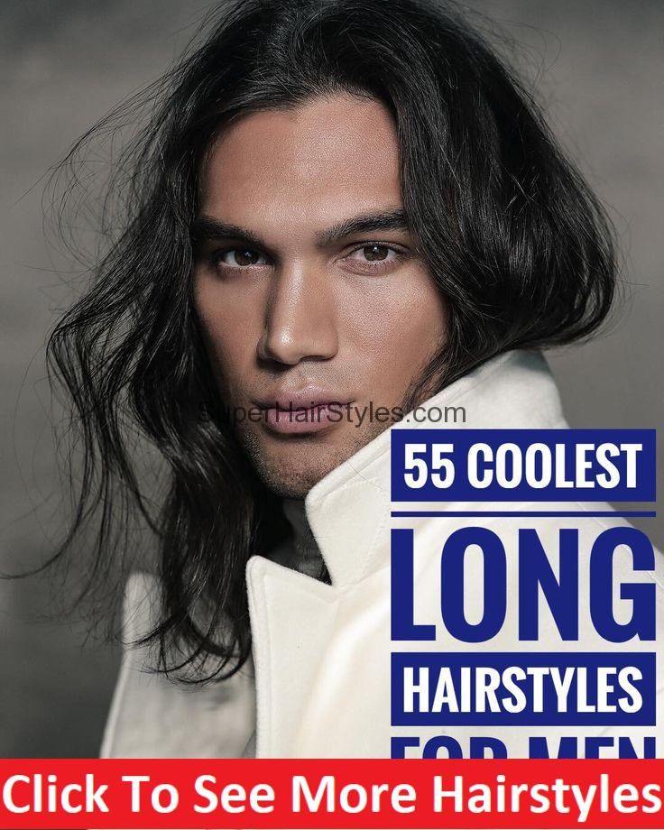 55 Coolest Long Hairstyles for Men #hair #hairstyle #menhair #menhairstyle #menh…