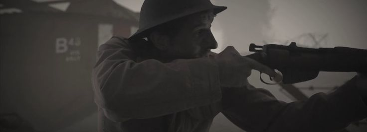 1920s War, mafia, detective short film made in a living room