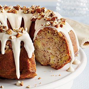 Hummingbird Bundt Cake—From pineapple to cream cheese, the same ingredients first featured in the 1978 version of this popular layer cake still shine in our new version— simplified by baking in a Bundt pan. | SouthernLiving.com