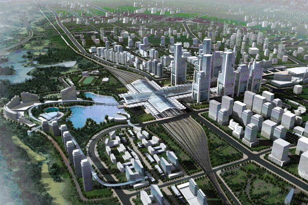 International Competition for National Railway Station District Master Plan01
