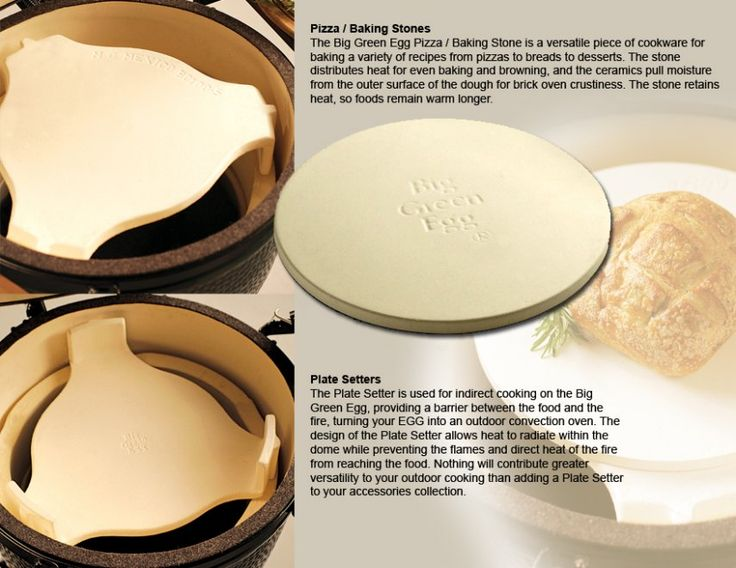 Big Green Egg Ceramic Accessories
