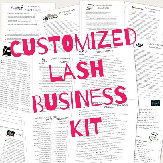 *For professional lash artists W H Y . W E . N E E D . T H I S Protect yourself and your growing lash business with a Waiver Agreement. I have all clients fill this out so they know my policies and what to expect. This form distinguishes our work from those who apply temporary falsies