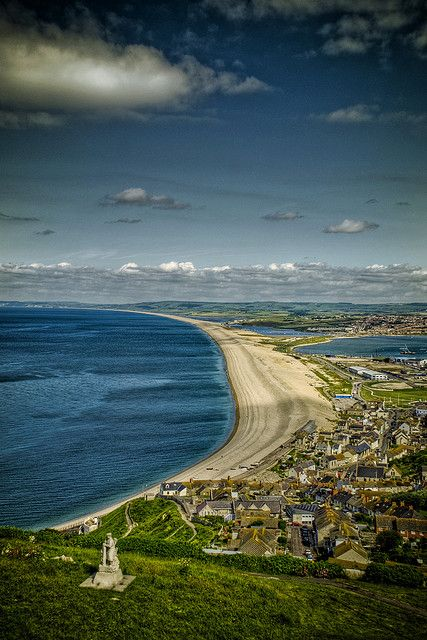 Chesil Beach - Dorset, England. 19 of the best beaches in Europe: http://www.europealacarte.co.uk/blog/2011/03/28/best-beaches-europ/