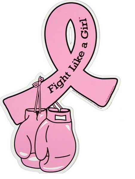 boxing gloves logo for breast cancer | Ribbon image - vector clip art online, royalty free & public domain