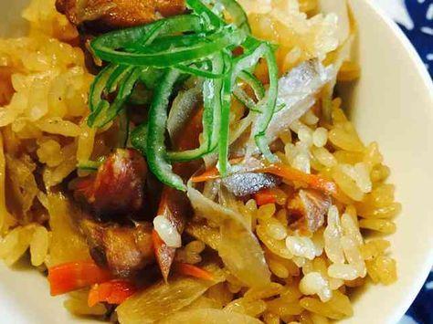 簡単★鶏ごぼう 炊き込みご飯の画像