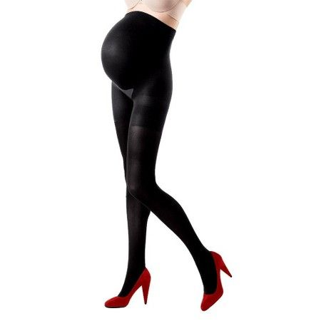 ASSETS® by Sara Blakely a Spanx® Women's Maternity Terrific Tights - Black 2…