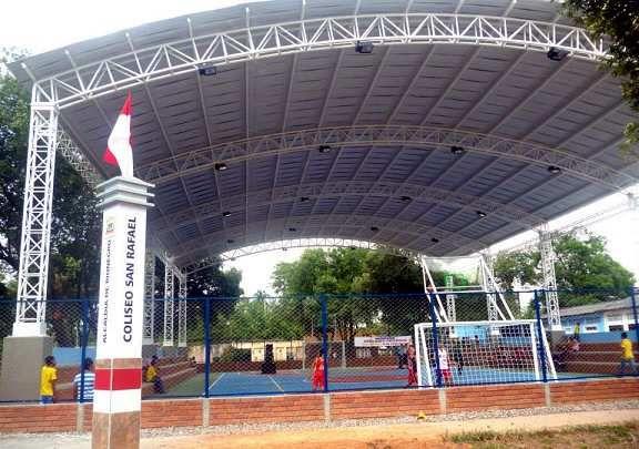 Santander hoy web: Polideportivo para el corregimiento San Rafael